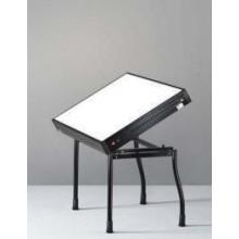 Tavolo con piano luminoso inclinabile prodotti per il restauro an t a res srl - Tavolo luminoso per disegno ...